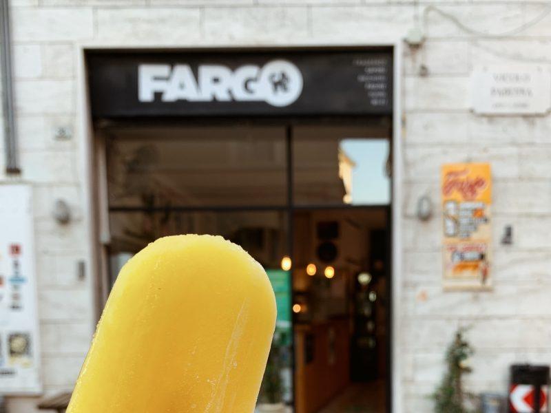 Gelati artigianali al Fargo Café