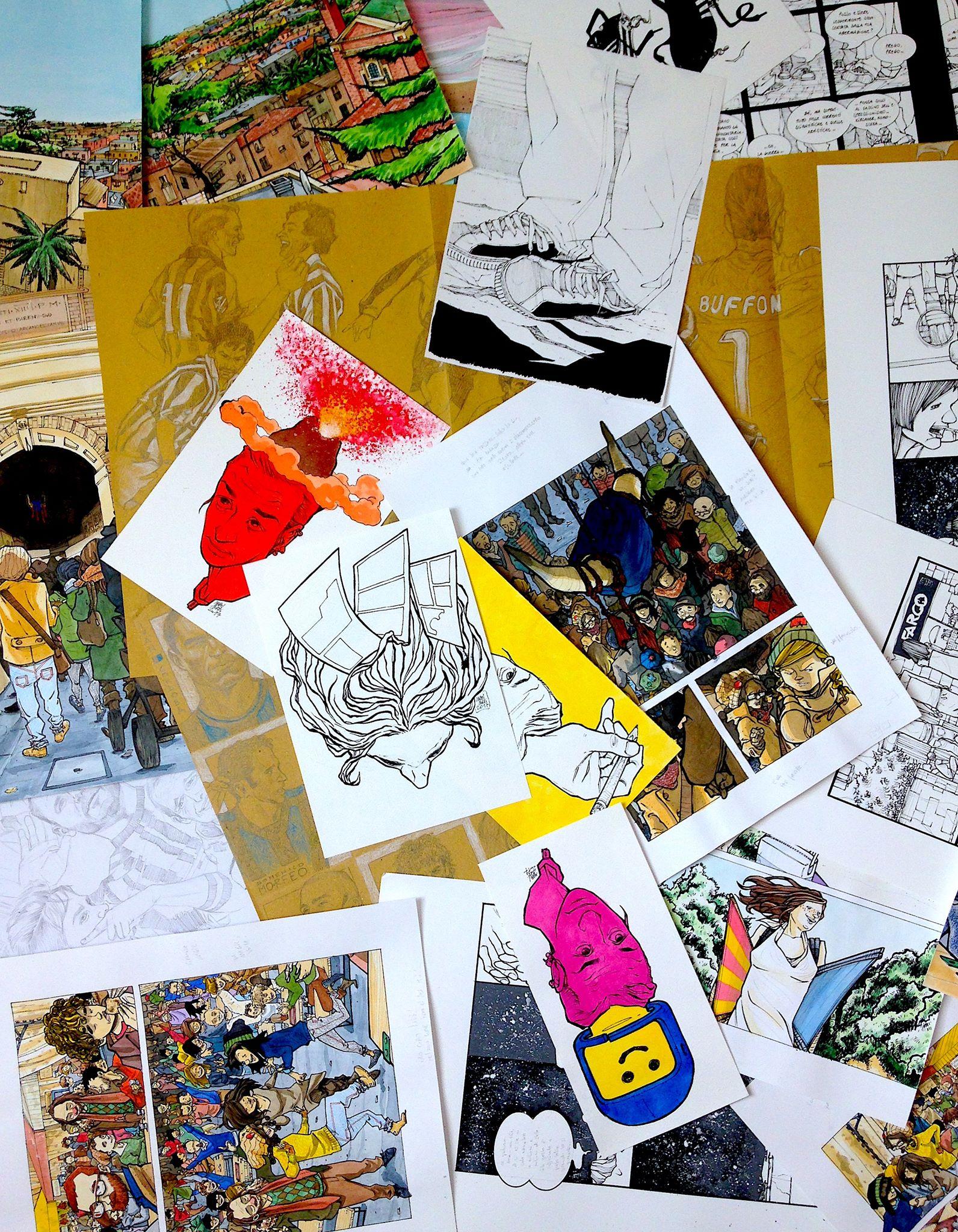 "Mabel Morri ""1999-2019, 20 anni di fumetti"""