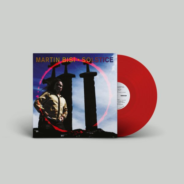 red trasparent vinile solstice