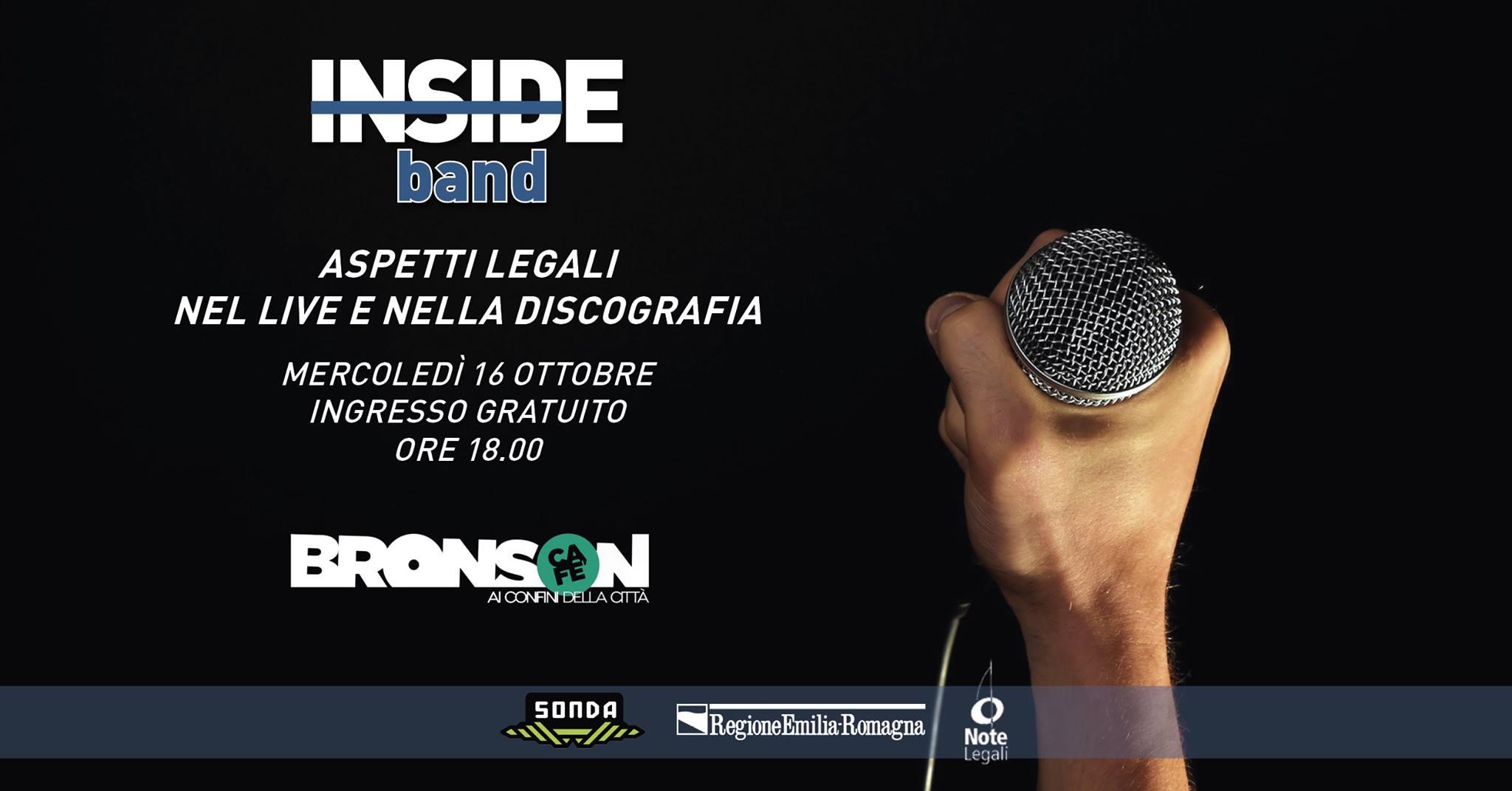 Inside Band: aspetti legali nel live e nella discografia