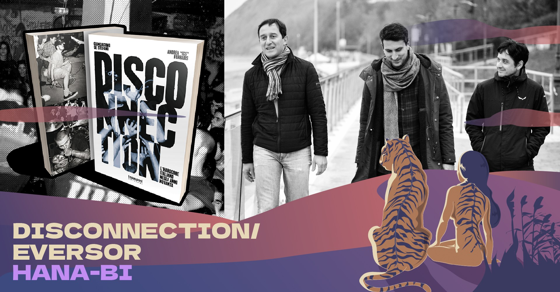 "Giangiacomo De Stefano ""Disconnection"" + Eversor LIVE"