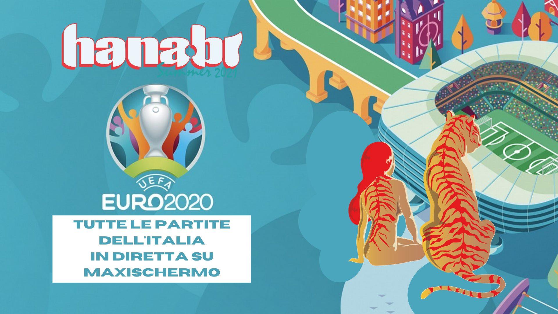 ITALIA a Euro2020 in diretta su maxischermo